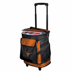 Texas Longhorns Rolling Cooler