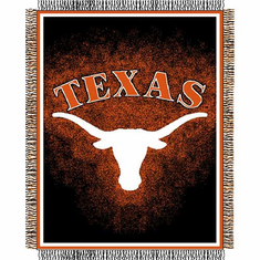 Texas Longhorns Triple Woven Jacquard Throw - BACKORDERED