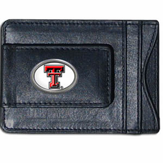 Texas Tech Leather Cash and Card Holder