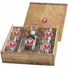 Texas Tech Red Raiders Capital Decanter Box Set