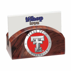 Texas Tech Red Raiders Ironwood Business Card Holder