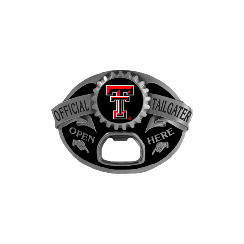 Texas Tech Red Raiders Tailgater™ Buckle - BACKORDERED