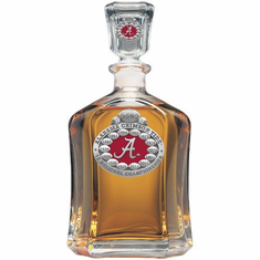 University of Alabama 2012 National Championship Capital Decanter