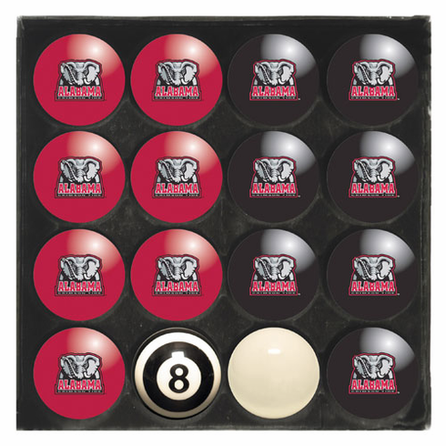 University of Alabama Home & Away Billiard Ball Set