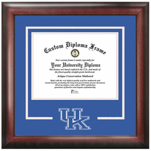 University of Kentucky Spirit Diploma Frame