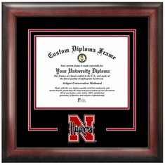 University of Nebraska Spirit Diploma Frame