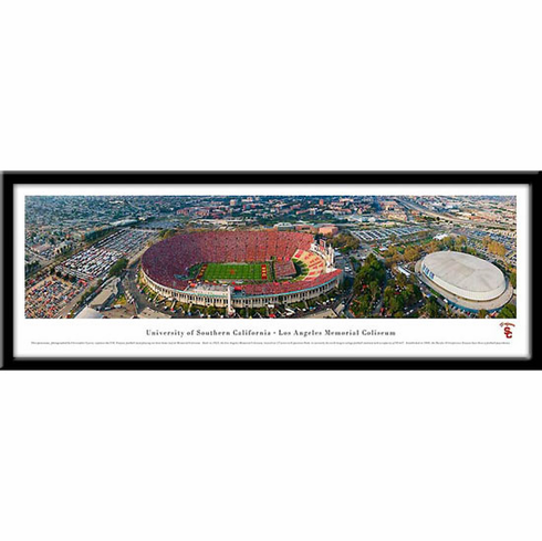 University of Southern California Framed Stadium Print