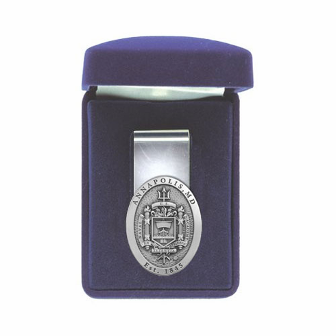 US Naval Academy Midshipmen Money Clip