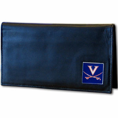 Virginia Leather Checkbook Cover - BACKORDERED