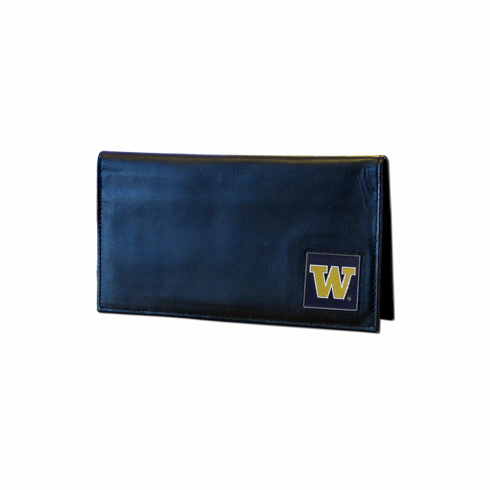 Washington Leather Checkbook Cover