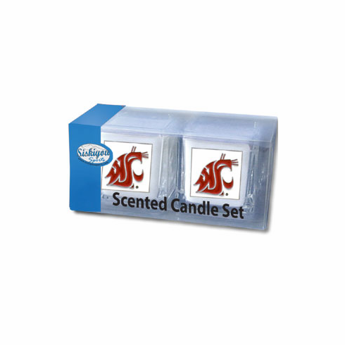 Washington State Cougars Candle Set