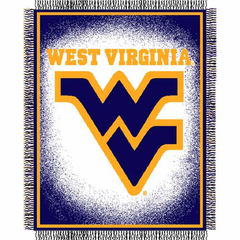 West Virginia Mountaineers Triple Woven Jacquard Throw