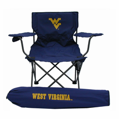 West Virginia Mountaineers Ultimate Adult Tailgate Chair - BACKORDERED