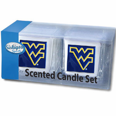 West Virginia Moutaineers Candle Set
