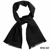 Black Cashmere Neck Scarf
