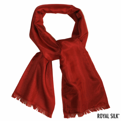 Maroon Cashmere Neck Scarf