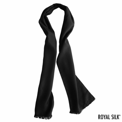Black Dashing Aviator Scarf