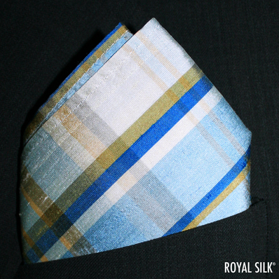 Earth Tones Plaid Dupioni