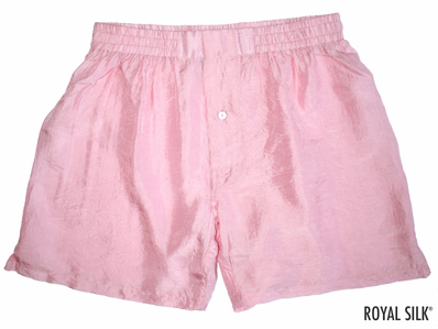Fab Candy Pink Silk Boxers