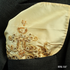 GOLDEN BEIGE GLITTER BEADS SILK HANDKERCHIEF