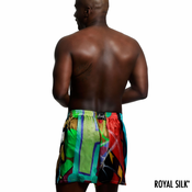 Graffiti Art Silk Boxers by Crash for Royal Silk®