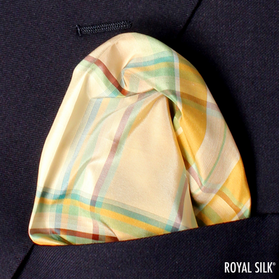Green Wood Plaid Taffeta