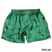Jade Green Satin Silk Boxers