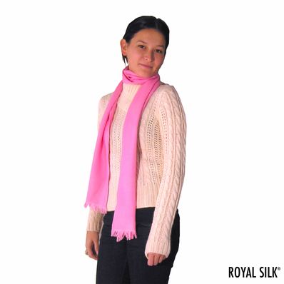 Long Cashmere Scarf