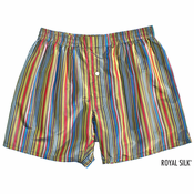 Ali Baba Stripes Silk Boxers