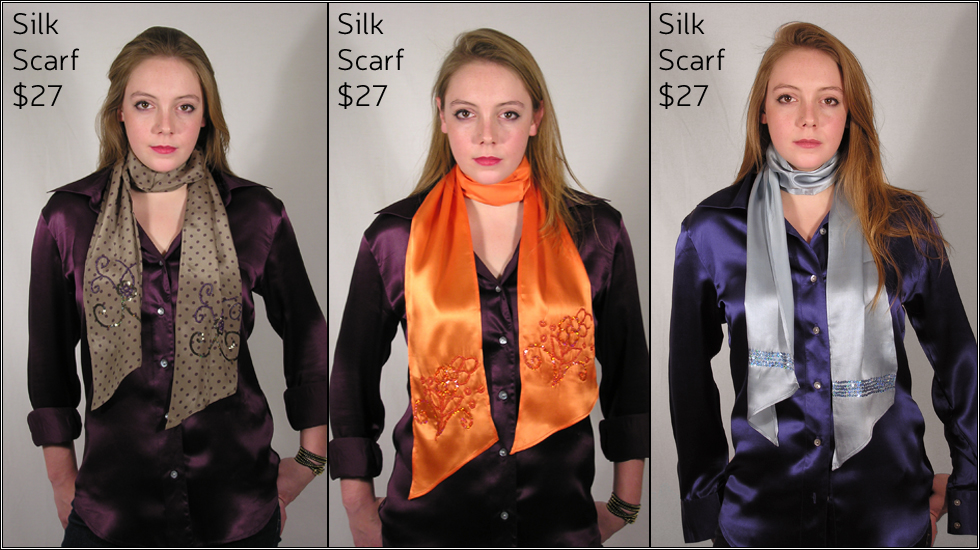 Silk Scarves - Women