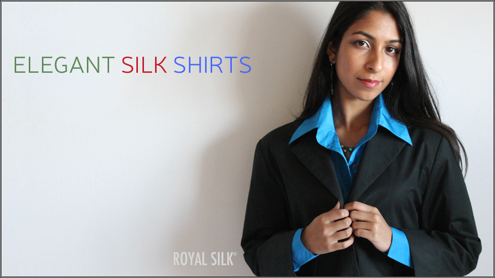 8916185bedbe16 Affordable Silk Shirts for Women by Royal Silk®. Est.1978