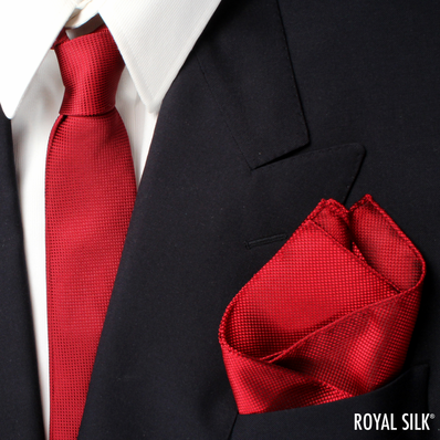 Skinny Tie & Pocket Square Set