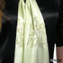 Whisper Lime Silk Scarf