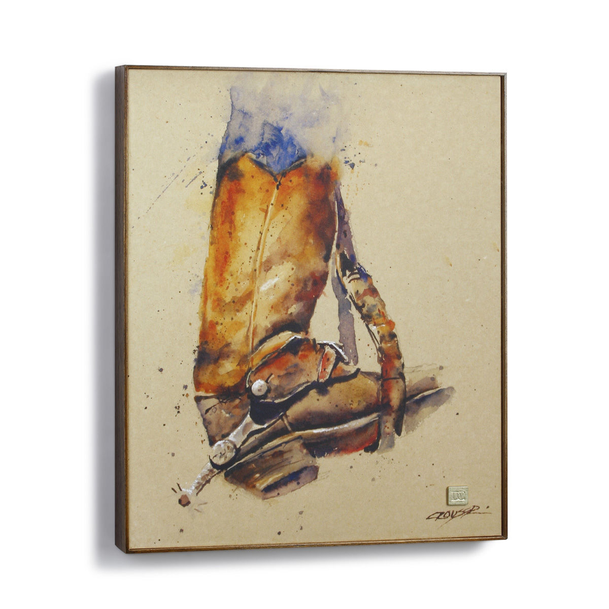 Dm3005210491 39 39 tools of the trade 39 39 western wall art for Wall painting utensils