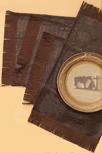 Mfw61212 Rustic Ranch Western Placemats Set Of 4