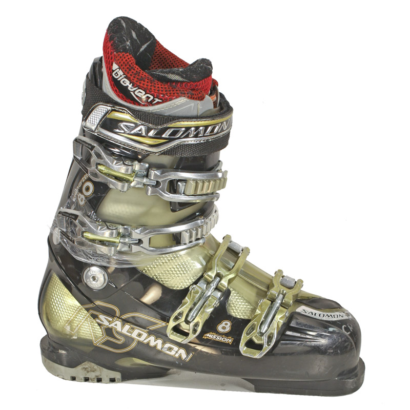 Used Salomon Mission 8 Ski Boots