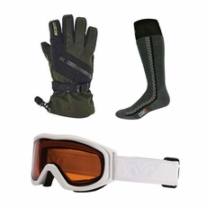 Holiday Bundle - Goggles, Gloves and Socks