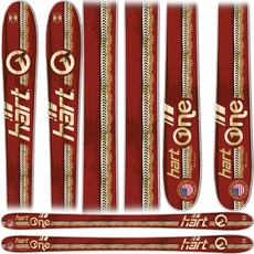 New 2012 Hart Hart One Skis Brown