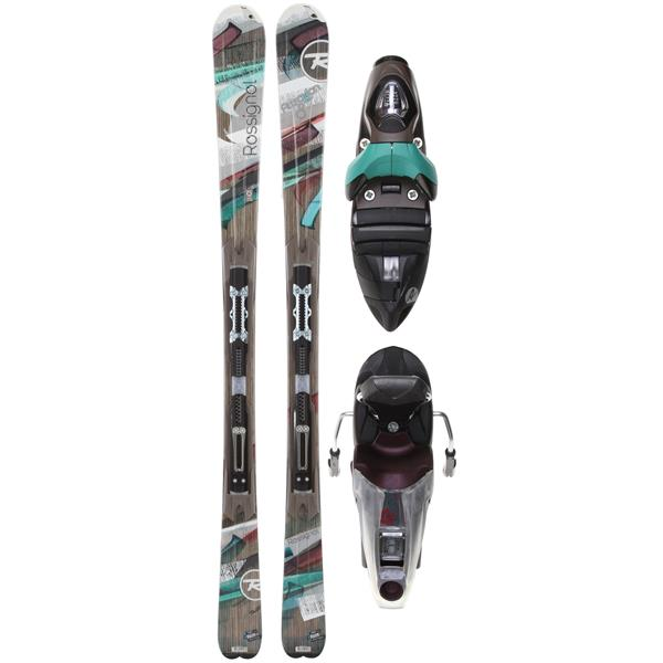 New 2013 Rossignol Attraxion 8 Echo Skis with Bindings