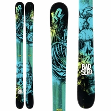 New 2014 K2 Bad Seed Skis with Marker Free 7.0 bindings