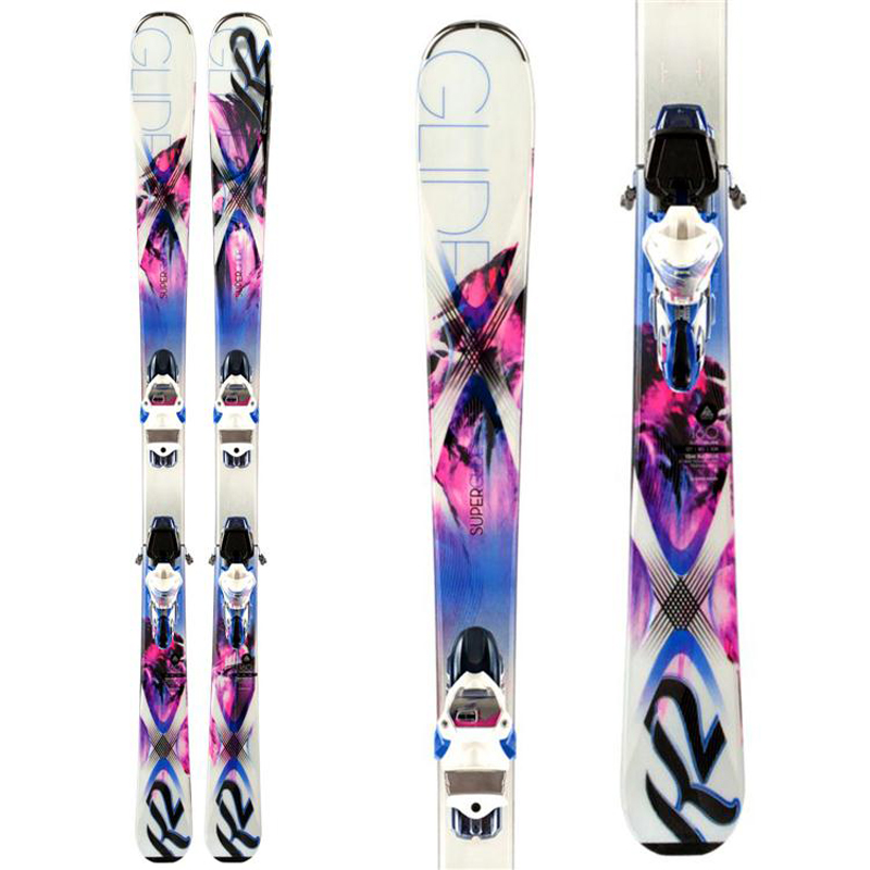 New 2014 K2 Superglide 80 Skis with Bindings