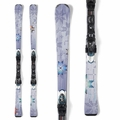 New 2014 Nordica Cinnamon Girl Skis with Bindings
