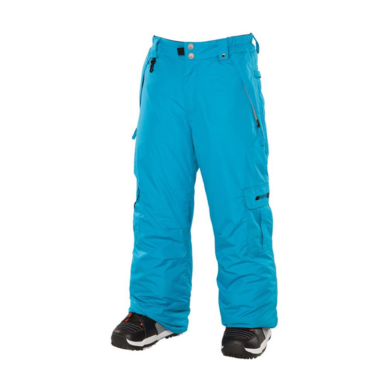 New 686 Boys Mannual Ridge Insulated Pant Cyan