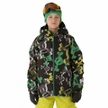 New 686 Paul Frank Boys Skurvy Halftone Insulated Jacket