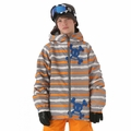 New 686 Paul Frank Boys Skurvy Rip Stripe Insulated Jacket