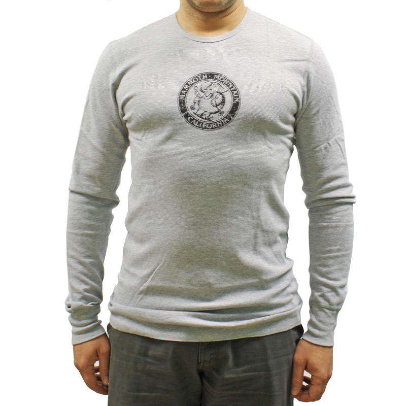 New American Apparel Thermal Mammoth Ski Shirt