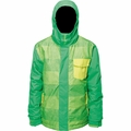 New Boys Billabong Over Jacket Acid Green