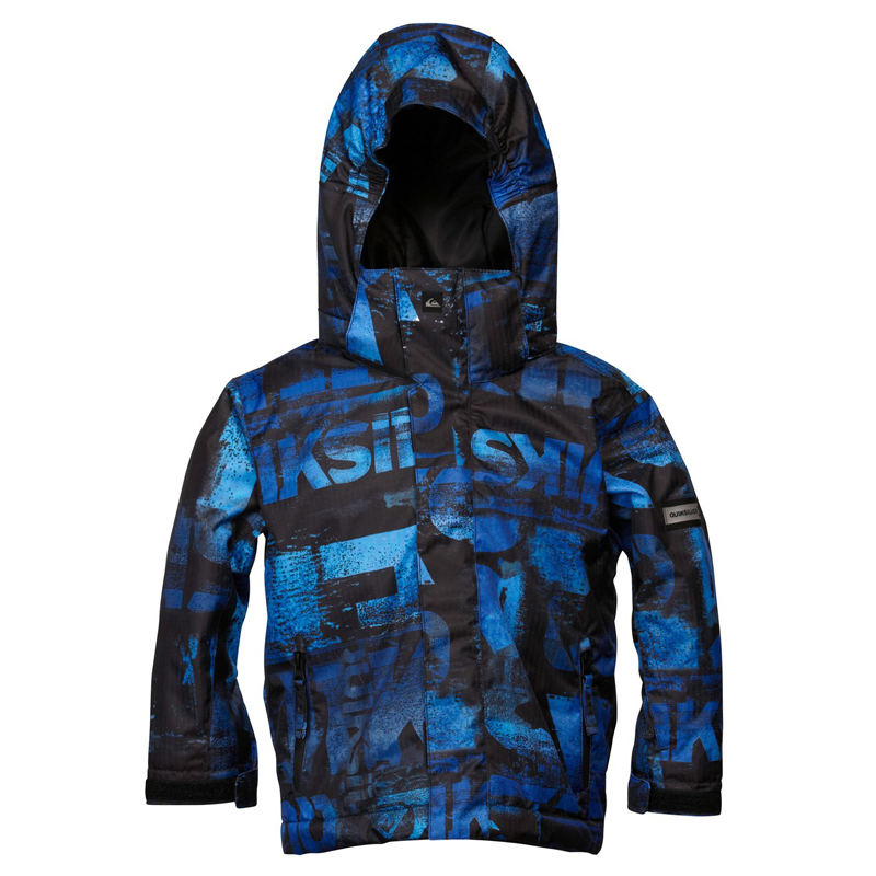 New Boys Quiksilver Little Mission 5K Jacket Blue