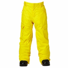 New Boys Quiksilver Porter Pant Yellow