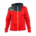 New Boys Spyder Strato Hoodie Fleece Volcano